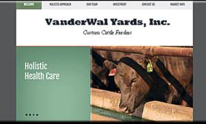 VanderWal Yards  A WordPress Site